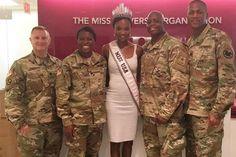 Deshauna Barber returns to Fort George G. Meade for training