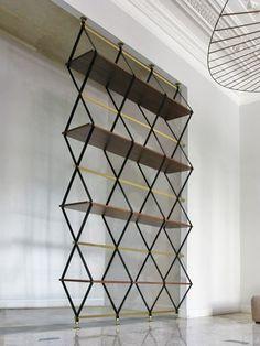 romboidale bookshelf divider - Поиск в Google