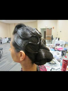 Dancesport Hair and ballroom make-up by Ceci Torres