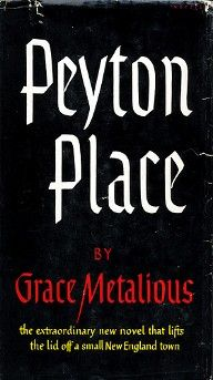 Peyton Place was a TV series in the 60's, the TV series brought back the popularity of the book...  it's a good read on a rainy day.