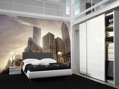 Eazywallz  - Downtown Chicago Wall Mural, $129.00 (http://www.eazywallz.com/downtown-chicago-wall-mural/)
