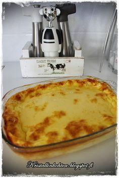 Kristallinhohtoa: Raejuustopaistos Dinner, Recipes, Food, Dining, Food Dinners, Essen, Meals, Ripped Recipes, Eten