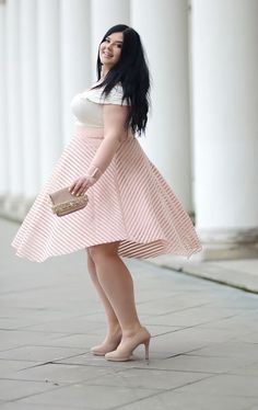 Although it is for the curvy figures, but it can be for everybody, irrespective of sizes and ages, where one should try an outfit other than the latest trend. Sometimes classy attire can be of more useful for the person concerned.