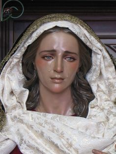 Nuestra Senora del Mayor Dolor y Consuelo/Our Lady of Sorrows, Francisco Romero Zafra (2006). Prayer: Virgin, you of virgins fairest,  May the bitter woe Thou bearest  Make on me impression deep. http://www.catholicculture.org/culture/liturgicalyear/prayers/view.cfm?id=774