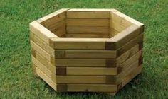 Resultado de imagen para macetas madera