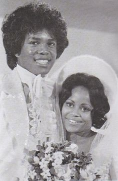 Jermaine LaJuane Jackson weds Hazel Joy Gordy, December 15, 1973..