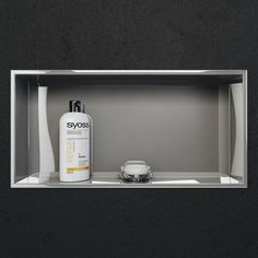 OUT OF STOCK UNTILL FEB 28th PLEASE PREORDER BEFORE THEY ARE SOLD OUT This Cantrio Koncepts long beautiful polished shower niche is just the perfect addition to your new bathroom renovation. Construct
