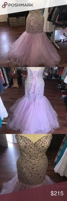 Mari lee purple beaded gown size 8 Mari lee purple beaded size 8 mari lee Dresses Prom