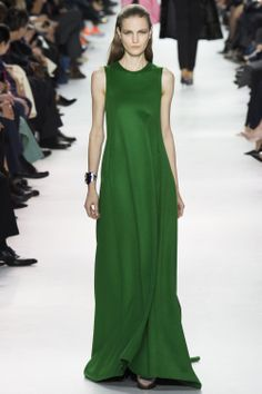 Dior AW'14/'15 PFW - RTW - beautiful green