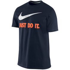 Men's Nike Just Do It Tee, Size: Small, Blue Other