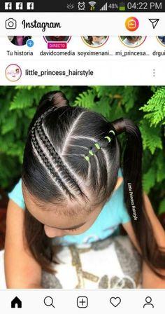 21 ideas braids styles for kids black hair hair braids 112730796909940253 Baby Girl Hairstyles, Kids Braided Hairstyles, Princess Hairstyles, Braid Hairstyles, Braids For Kids, Girls Braids, Curly Hair Styles, Natural Hair Styles, Girl Hair Dos