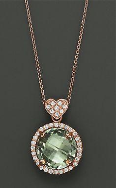 Stunning Lisa Nik diamond heart pendant