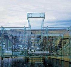 Das Santambrogio Milano Glas Häuser Leben ohne Grenzen