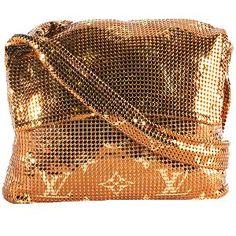 Louis Vuitton Limited Edition Monogram Mesh Frances Crossbody Shoulder Handbag