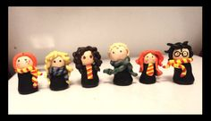 harry potter school | Harry Potter School Gang of 6 by ~BellsNGems on deviantART