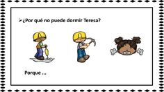 Inferencias pragmáticas a través de pistas visuales #TEA -Orientacion Andujar Work Project, Spanish Class, Speech Therapy, Winnie The Pooh, Worksheets, Disney Characters, Fictional Characters, How To Plan, Projects