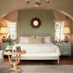befroom wood paneling | Brush away boring wood boards. A color makeover can give your paneling ...