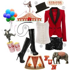 Circus Ringmaster.  Might just need this idea with pants for Ezra's first birthday party...heeey!