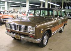The First SUVs  International Harvester Travelall 1972.