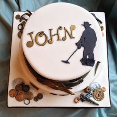 Happy 60th Birthday John - Treasure! - by Janthecakelady @ CakesDecor.com - cake decorating website