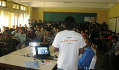 Awesome event in Agriculture and Forestry University, Nepal