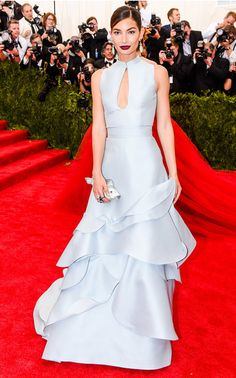 Fresh from the red carpet, enviable gowns and accessories seen on Hollywood's leading ladies. From Kristen Wiig in a floor-sweeping buttercup Prabal Gurung gown to dazzling Judith Leiber clutches carried by Diane Kruger, Chrissy Teigen, and Lily Aldridge, pieces as show-stopping as the celebrities who wore them.