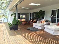 """""""The Deck"""" - Central, a Central Coast Waterfront House Deck Design, House Design, Central Coast, Waterfront Homes, Stay The Night, Rental Property, Lake View, Open Plan, Bungalow"""