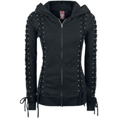 Teathar Hood - Girlie hættetrøje af Heartless - Artikelnr.: 259862 - fra 299,95 kr - EMP Danmark ::: Merchandise ::: Streetwear ::: Modetøj