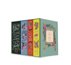 Puffin in Bloom: A collection of classics with stunning cover art by renowned stationery brand Rifle Paper Co.'s principal artist, Anna Bond, now available as...