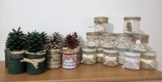 Vianočné dekorácie a svietniky si vyžiadali veľmi obeť:) Najskôr bolo  treba zjesť 22 jogurtov!:))) Autorka: zuzu-lienka. Artmama.sk
