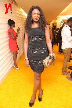 Genevieve Nnaji, Rita Dominic, D'Banj & More Red Carpet Fashion At Ebony Life TV Launch. Who Is Your Best & Worst Dressed? that1960chick.com | Your premium source for all things Nigerian Pop Culture, Entertainment, Fashion, News and More | that1960chick.com