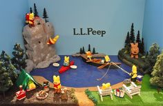 Please help L.L.Peep win the Peeples Choice award via The Washington Post. Click on the photo to the voting page.  This peep diorama was made by the Vogt family - big L.L.Bean fans!  Thank you :)