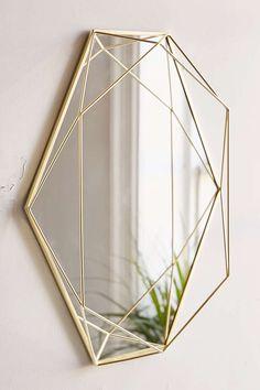 Home Decor Ideas Decor, Mirror Decor, Geometric Mobile, Contemporary Wall Art, Umbra, Mirror Wall, Mirror Designs, Contemporary Mirror, Home Decor