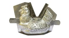 Antique French Chocolate Chicken Mold. Large by LeBonheurDuJour, $75.00