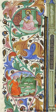 Book of Hours, MS M.64 fol. 57v - Images from Medieval and Renaissance Manuscripts - The Morgan Library & Museum