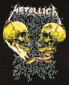 Metallica Vintage T Shirt Concert 1991 Sad But True Pushead Black Tour XL… Metallica Tattoo, Metallica Art, Metallica Shirts, Metallica Albums, Metallica Black, Hard Rock, Heavy Metal Rock, Heavy Metal Bands, Vintage Rock