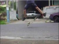 Vídeo de uma session curta na rua.Balneário Camboriú/SC