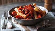 BBC - Food - Recipes : Pasta with winter ratatouille