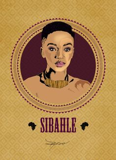 Nandi Mngoma, South African TV personality and singer - Phenomenal African Women Celebrated In Posters For Women's Day Okayafrica.