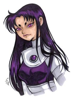 Blackfire Teen Titans by Teen Titans Blackfire, Marvel Cartoon Movies, The Originals Show, Black Fire, Old Comics, Drawing Skills, Batgirl, Superhero, Dc Universe