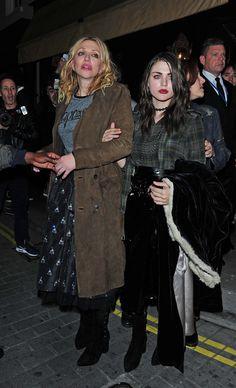 Courtney Love & Frances Bean Cobain