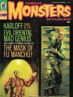 Monster Magazine Galleries: Famous Monsters of Filmland 2