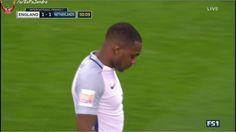 Janssen penalty goal v England (1-1) (great technique)