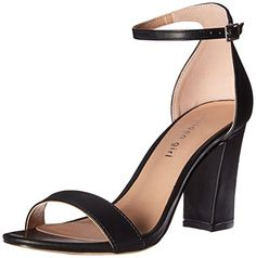 Madden Girl Women's Beella Dress Sandal, Black Paris, 7.5... https: