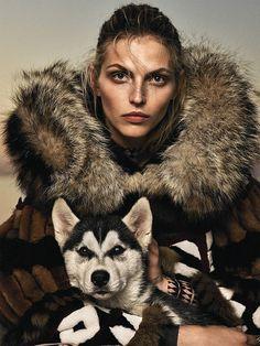 Karlina Caune for Glamour Paris by Stefan Heinrichs