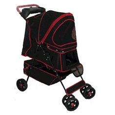 Domestic Pet Feeders Red Walkie Pet Stroller Fascinating ** Read more  at the image link.
