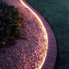 Creative and effective landscape lightening allow the homeowner to use outdoor space well even during the night time.
