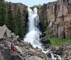 Pagosa Springs is located in the heart of the Southern Rockies so that one can stay in Pagosa and visit many great tourist stops on one day drives. Here is a story about North Clear Creek Falls. It is off Hwy 149 north from South Fork, Colorado. …