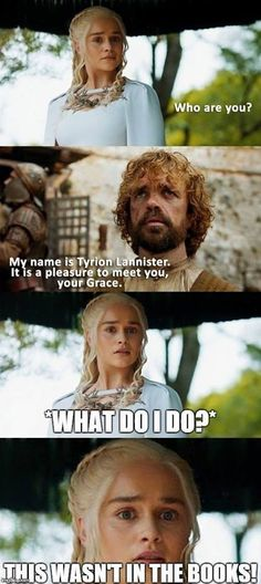 Dany's out of her league here.