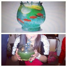 fish bowl drink Pinterest fail